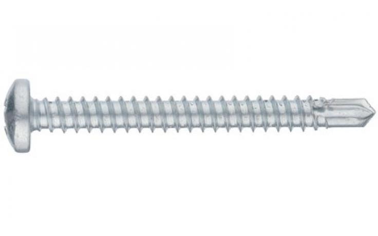DIN 7504-N, acél, horganyzott
