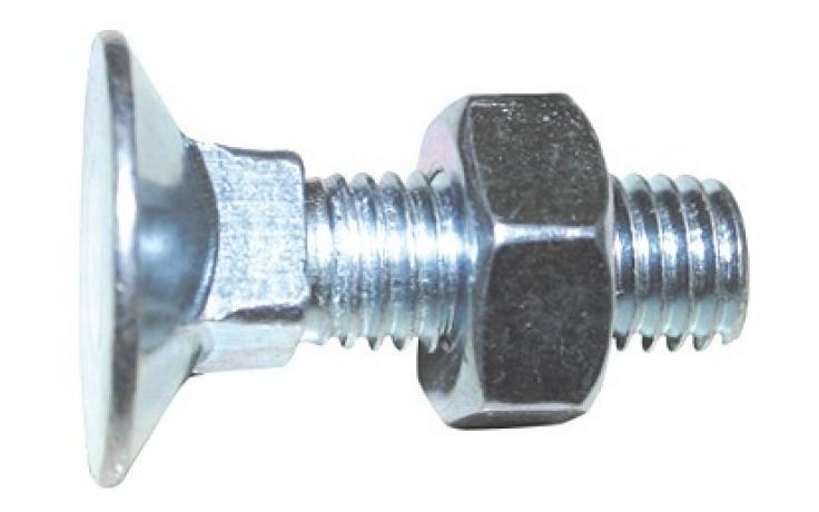 DIN 605, acél 4.6, horganyzott