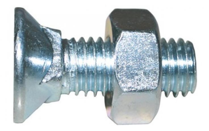 DIN 608, acél, 4.6, horganyzott