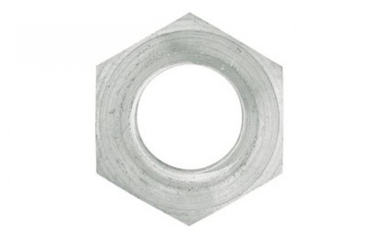 DIN 934 (ISO 4032), sárgaréz, nikkelezett