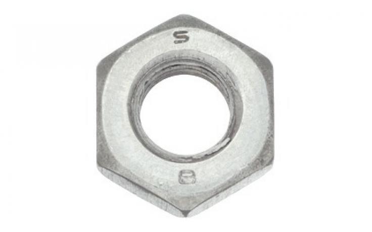 ISO 4032, acél, 8, horganyzott
