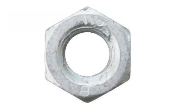 ISO 4032, acél, 8, geomet