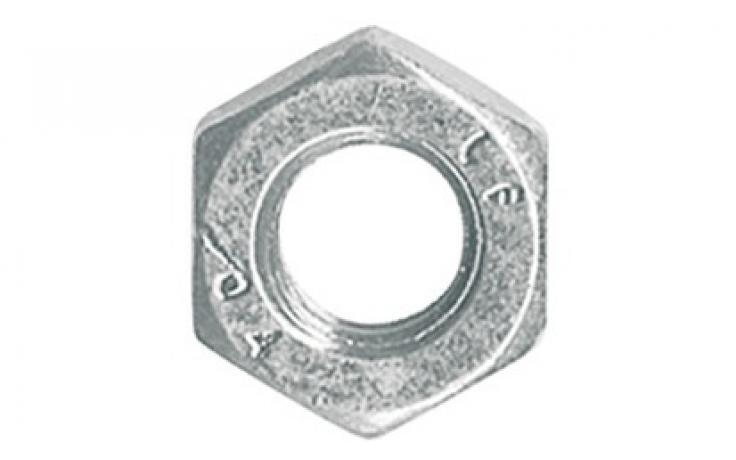 B forma, acél, 4, balos menettel, horganyzott