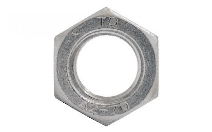 ISO 4032, nemesacél rozsdamentes A2-70