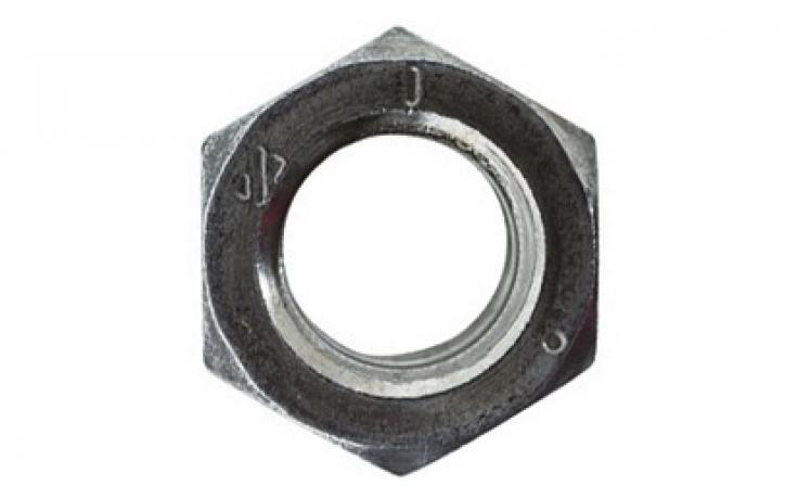 DIN 934-hez hasonló, UNC, acél, 8, feketített