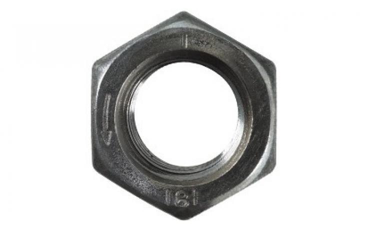 ISO 4032, acél, 8, balos menettel, horganyzott