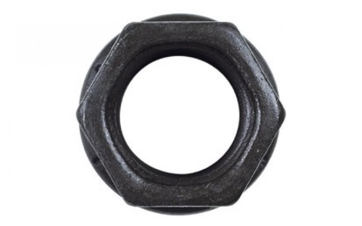 A forma, gömbvégű, acél, 10, feketített