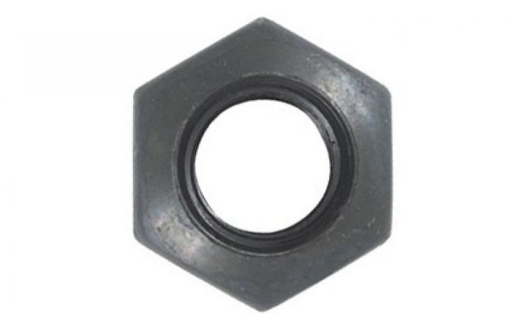 DIN 6330, B forma, 10, finommenettel, feketített