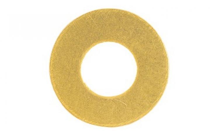 DIN 134, sárgaréz, nyers
