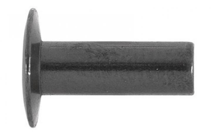 DIN 662, lencsefejű, vas, nyers