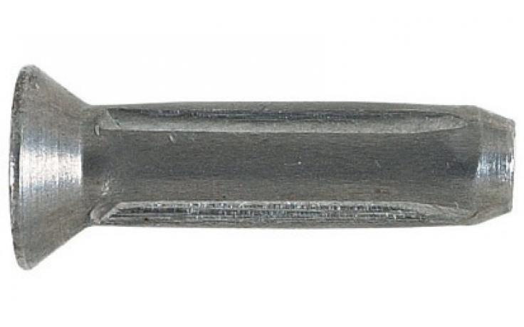 Süllyesztettfejű rovátkolt szegek DIN 1477 (ISO 8747), acél, nyers