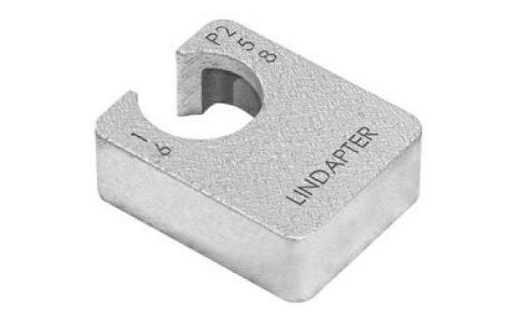 Kiegyenlítődarab (LR/D2 típushoz) • P1 típus • hosszított • temperöntvény • tüzihorganyzott