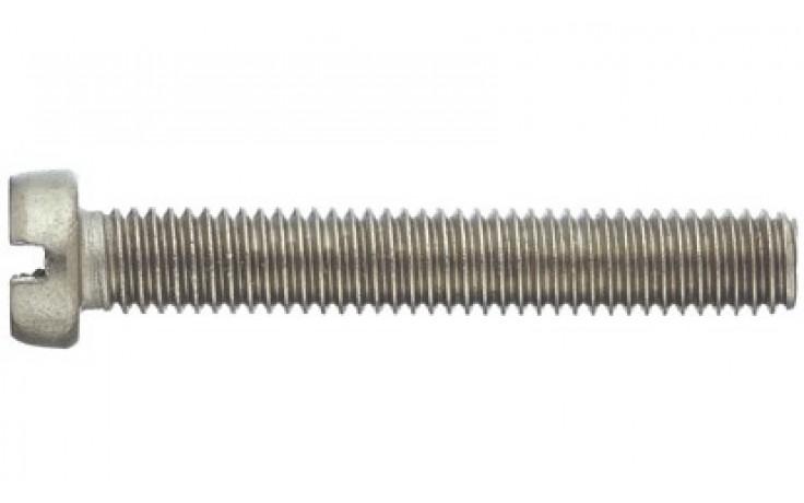 Gewindeschr. mit Zylinderkopf Schlitz M1,6x10 DIN 84 Stahl rostfrei A2 ISO 1207
