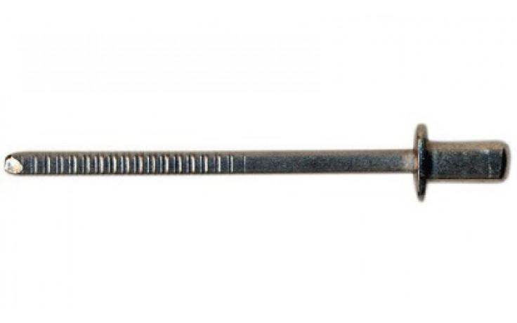 RECA- Becherniete Flachrundkopf Edelstahl rostfrei A2 m. A2-Dorn 3,2 x 6 mm