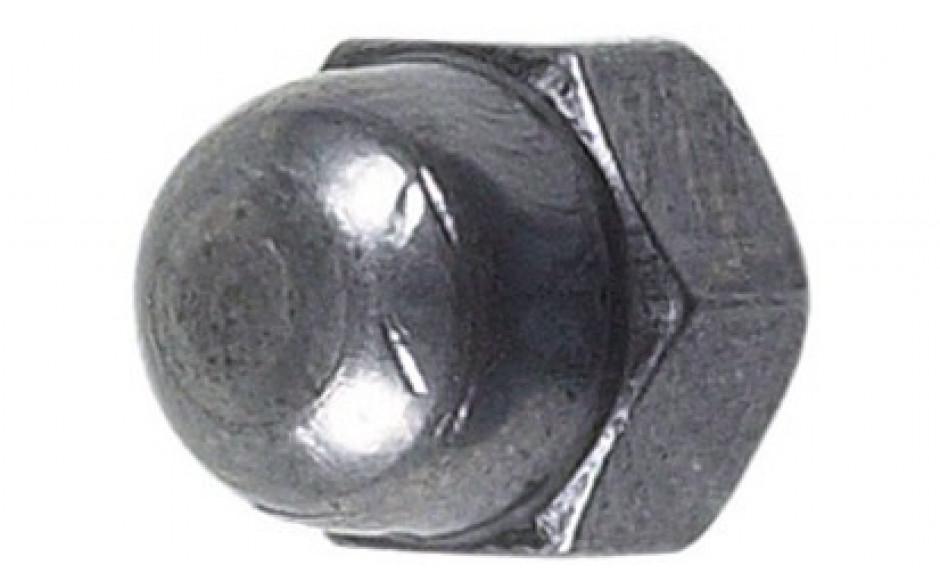 Hutmuttern M16 x 1,5 DIN 1587 FKL 6 hohe Form Stahl blank