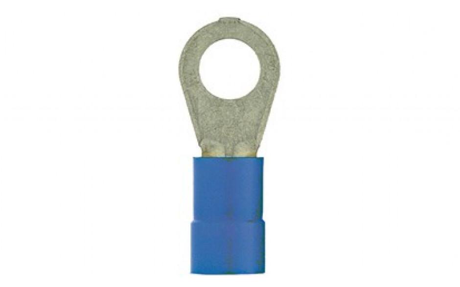 Ringzunge M6 blau für Kabelquerschnitt 1,5-2,5 mm² isoliert