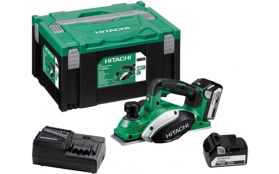Hitachi AKKU HOBEL -P18DSL + 2. Akku / HSC