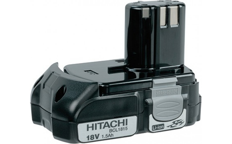 Hitachi AKKUS Li-ion/Ni-Cd/Ni-MH-Akku BCL1815 Li-ion