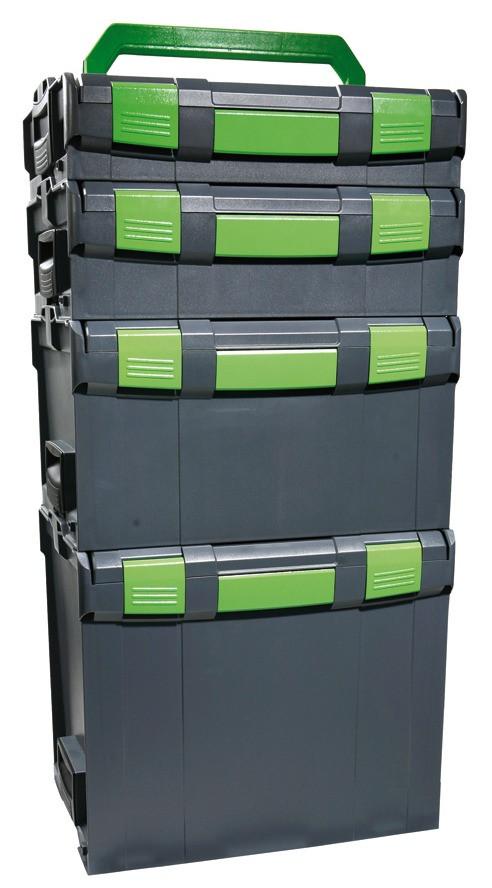 RECA MAXMOBIL RECA Boxx 102, Außenmaße (B x T x H): 442 x 357 x 117 mm