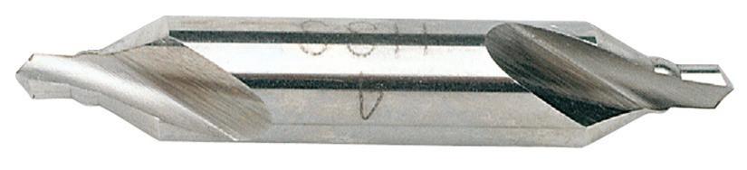 RECA Zentrierbohrer DIN 333 Form A mit Verstärkungswulst HSS Durchmesser x Länge 1,6 x 35,5 mm