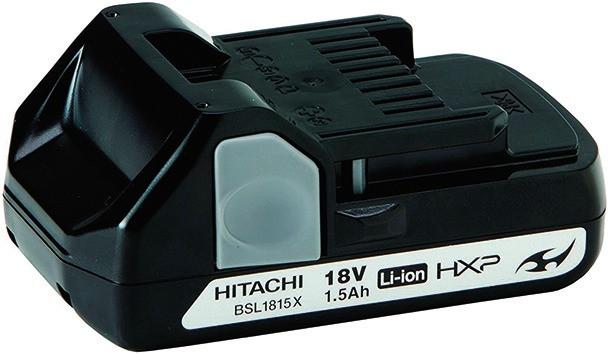 Hitachi AKKUS Li-ion/Ni-Cd/Ni-MH-Akku BSL1815X Li-ion