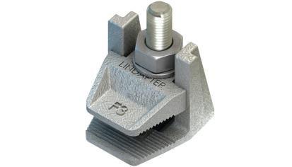 Lindapter® 2-teilige Flanschklemme Typ F3 mit Schraube - Temperguss - feuerverzinkt - F320NC