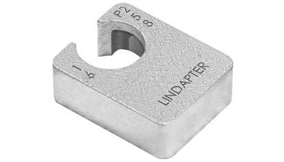 Lindapter® Unterlegscheibe Typ P2 - lang - Stahl - verzinkt blau - P2L10