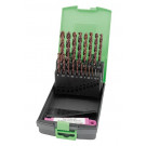 RECA Ultra-Plus-Box csigafúró-készlet HSS-O 1 - 10 mm