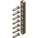 Metallfreie Konusverbindung Set E (Doppelbett)
