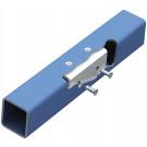 Lindapter® Hollo-Bolt Flush Fit Typ HBFF - Stahl - verzinkt blau - M8 X 50 - HBFF08-1